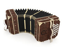 gammal harmonica Arkivfoton