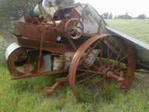 Gammal Harvester Royaltyfria Foton