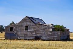 Gammal hemman nära Parkes, New South Wales, Australien Royaltyfri Fotografi