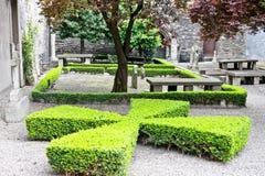 Gammal huguenot kyrkogård, Dublin, Irland royaltyfria foton