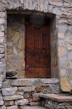 Gammal husingång i Bulgarien Royaltyfri Fotografi
