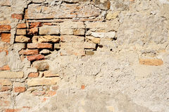 Gammal husvägg Arkivfoto