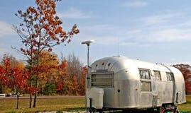 gammal husvagn Fotografering för Bildbyråer