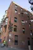 Gammal hyreshus i Seattle Fotografering för Bildbyråer