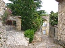 Gammal by i Frankrike royaltyfri fotografi