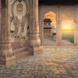 Gammal indisk oas Royaltyfri Fotografi