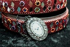 Gammal indisk smyckenask Royaltyfria Bilder