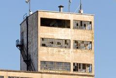 Gammal industribyggnad Arkivbild