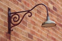gammal industriell lampa Royaltyfri Foto