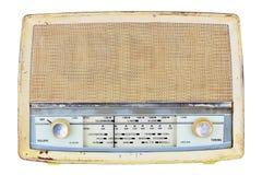 Gammal inhemsk trådlös uppsättning för radiomottagare Royaltyfri Fotografi