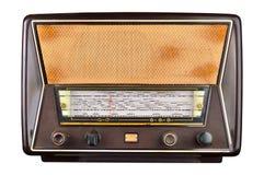 Gammal inhemsk trådlös uppsättning för radiomottagare Royaltyfri Foto