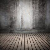 Gammal inre bakgrund för tomt mörkerabstrakt begrepp royaltyfria foton