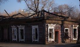 Gammal Irkutsk stad Arkivbild
