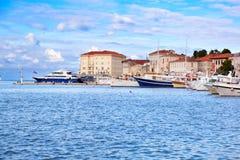 Gammal Istrian town Arkivfoton