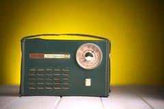 Gammal italiensk stiltappningradio fotografering för bildbyråer