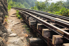 gammal järnväg Royaltyfria Foton