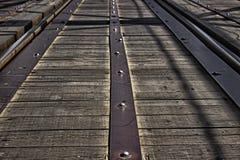 Gammal järnväg Royaltyfria Bilder