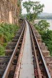gammal järnväg Arkivbilder