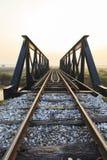Gammal järnväg viadukt Royaltyfri Fotografi