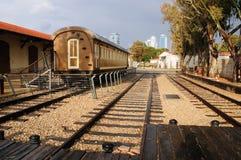 Gammal Jaffa järnvägsstation Fotografering för Bildbyråer