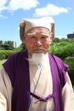 gammal japansk man Arkivbilder