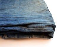 gammal jeans Fotografering för Bildbyråer