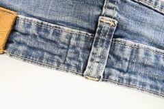 gammal jeans Royaltyfri Bild