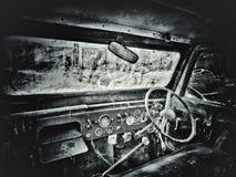 gammal jeep arkivfoto