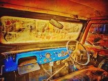 gammal jeep arkivbilder