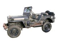 gammal jeep royaltyfria foton