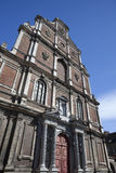 Gammal Jesuithögskola av Sanktt Omer, Frankrike Arkivfoto