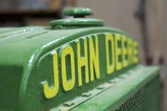 Gammal John Deere logo Arkivbilder