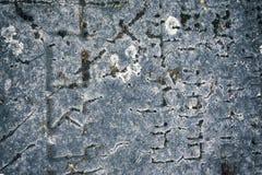 Gammal judisk kyrkogård Royaltyfria Bilder