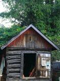 gammal kabin Fotografering för Bildbyråer