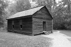 Gammal kabin för Ye Arkivbilder