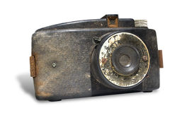 gammal kamera Royaltyfri Bild