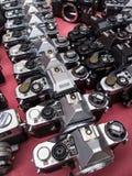 gammal kamera Fotografering för Bildbyråer