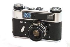 gammal kamera Arkivfoto