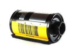 Gammal kamerarulle 35mm Royaltyfri Foto