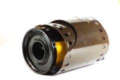 Gammal kamerarulle 35mm Fotografering för Bildbyråer