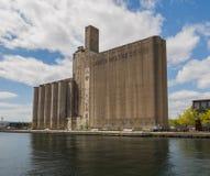 Gammal Kanada Maltingbyggnad i Toronto Arkivbilder
