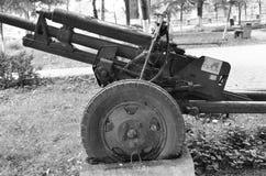 gammal kanon Arkivfoto