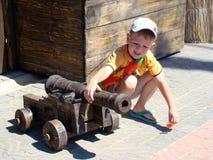 gammal kanon Royaltyfria Foton