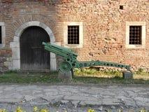 Gammal kanon från krig Royaltyfri Fotografi
