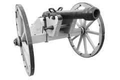 gammal kanon tappningkrutvapen fotografering för bildbyråer