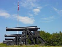 gammal kanonförsvarmilitär Royaltyfria Foton