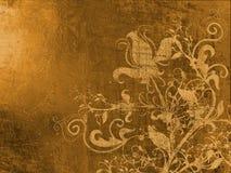 gammal kantgrungelook royaltyfri illustrationer