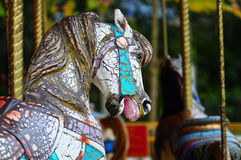 gammal karusell Royaltyfria Foton