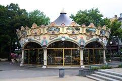Gammal karusell Royaltyfri Bild
