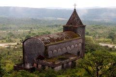 gammal katolsk kyrka arkivfoton